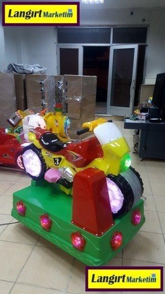 Jetonlu Oyuncak Motosiklet