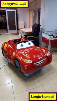 Jetonlu Oyuncak Şimşek Araba