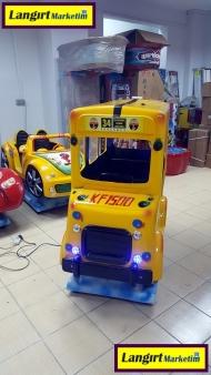 Jetonlu Oyuncak Otobüs