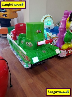 Jetonlu Oyuncak Tank